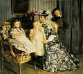 Lucien Simon, 1903 - Madame Lucien Simon et ses enfants.jpg