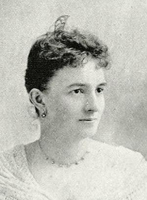 Luetta Elmina Braumuller - Luetta Elmina Braumuller, ca. 1893.