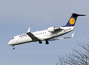 Lufthansa CityLine Canadair CL-600-2B19 regional jet (CRJ-100)