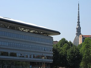 University of Turin Department of Law - Luigi Einaudi Campus - Mole skyline
