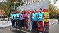 Luis Cueto da la salida al Minimaraton Madrid-Yiwu 01.jpg