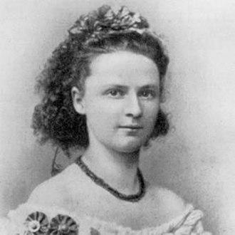 Rastatt - Luise Adolpha Le Beau in 1872