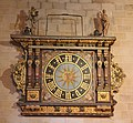 Lund, the cathedral, clock.JPG