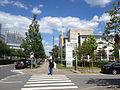 Luxembourg Kirchberg Rue Dr Nicolas Clasen - Rue Edward Steichen - Hospital.JPG