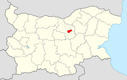 Lyaskovets Municipality within Bulgaria and Veliko Tarnovo Province.