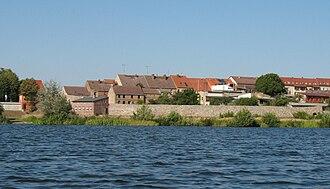 Lychen - Image: Lychen Stadtmauer