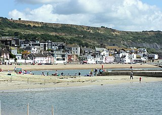 Lyme Regis Coastal town in Dorset, England