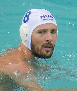 Márton Szívós Hungarian water polo player