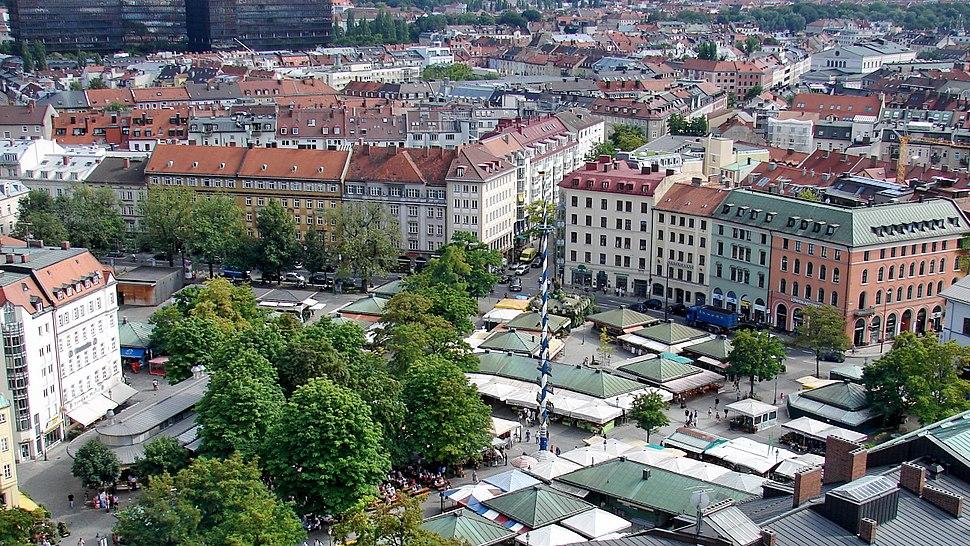 München Viktualienmarkt 2011