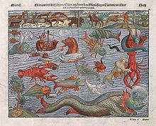 sea monster wikipedia