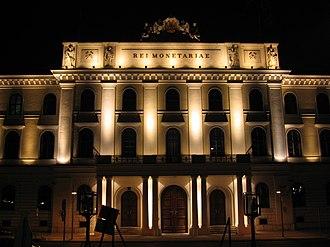 Austrian Mint - Headquarters of the Austrian Mint at Heumarkt in Landstrasse in Vienna