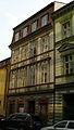 Měšťanský dům U Šťastných (Nové Město), Praha 1, Nekázanka 14, Nové Město.JPG