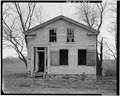 MAIN FRONT LOOKING SOUTH - Mowry Brown House, State Route 2, Owen Township, Rockford, Winnebago County, IL HABS ILL,101-ROCFO.V,1-2.tif