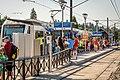MAX Orange Line Opening Day at Milwaukie Main St station.jpg