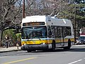 MBTA route 73 bus at Mount Auburn Hospital, March 2017.JPG