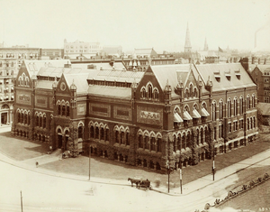 John Hubbard Sturgis - Museum of Fine Arts, Boston by Sturgis, completed 1876