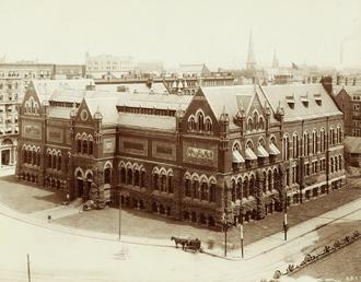 John Hubbard Sturgis - Museum of Fine Arts, Boston by Sturgis, completed 1876