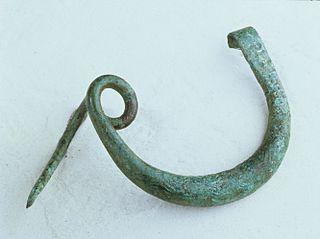 Fibule à une spire et arc renflé (75.1.120)