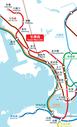 MTR Tsuen Wan Line Geograpical Map.png