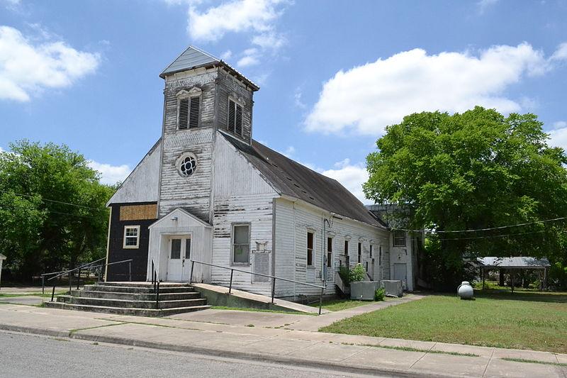 File:Macedonia Baptist Church, Cuero, Texas.JPG