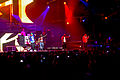 Mack Maine, Lil Wayne, Jae Millz, and Gudda Gudda performing at General Motors Place.jpg