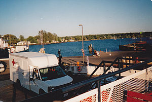 La Pointe, Wisconsin - Image: Mad Ferry 4