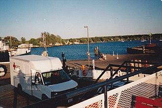 La Pointe, Wisconsin - Image: Mad Ferry 4