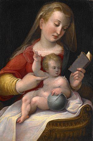 Barbara Longhi - Madonna and Child, ca. 1580–85