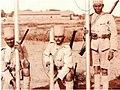 Madras Sappers com Torpedo de bangalore em 1916.jpg