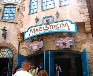 Maelstrom (ride) former attraction located in the Norway pavilion of the World Showcase in Epcot