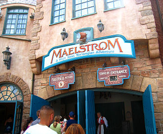 Maelstrom (ride) - Image: Maelstrom entrance sign