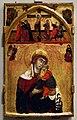 Maestro delle clarisse,madonna col bambino, con crocifissione e annunciazione, 1265-75 ca.jpg