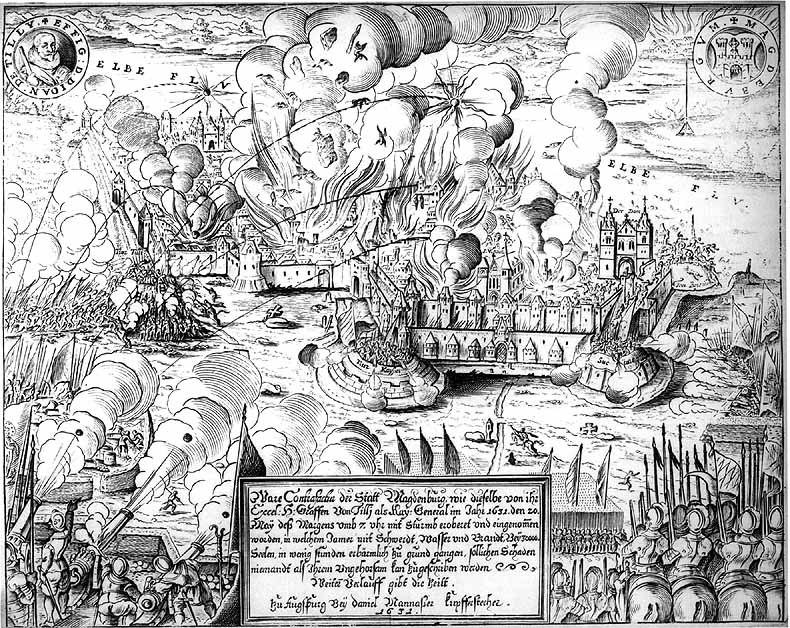 Kupferstich von D. Manasser, 1632