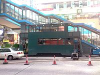 Maintenance tram on Hennessy Road during daytime on 2014-10-29 (1).JPG
