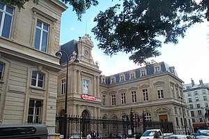 3rd arrondissement of Paris - the Mairie (town hall) of the 3rd arrondissement