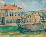 Maison et ferme du Jas de Bouffan, par Paul Cézanne.jpg