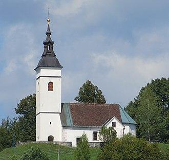 Mala Ligojna - Saint Leonard's Church