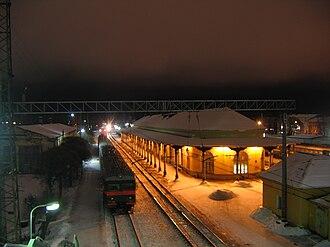 Malaya Vishera - Malaya Vishera railway station