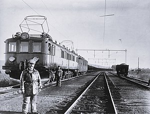 SJ O - Unit on the Iron Ore Line in 1950