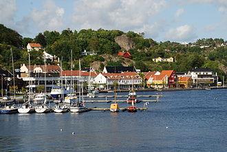 Mandal, Norway - Marina in Mandal