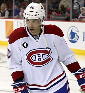 Manny Malhotra Canadian ice hockey player