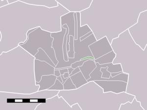 Houtdijken - Image: Map NL Woerden Houtdijken