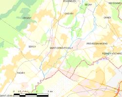 Saint genis pouilly wikipedia for Comcode postal saint genis pouilly