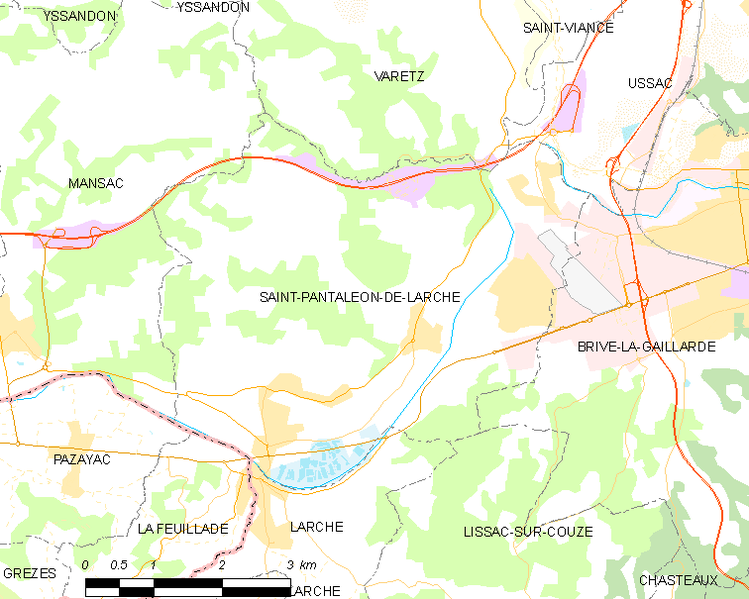 Archivo:Map commune FR insee code 19229.png