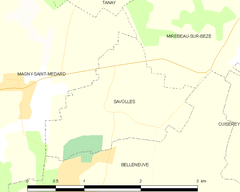 Map commune FR insee code 21595.png