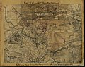 Map of 1st and 2nd Bull Run battles. Official map from the Topographical Bureau, Washington, D.C. LOC gvhs01.vhs00239.jpg