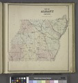 Map of Albany County. NYPL1582628.tiff