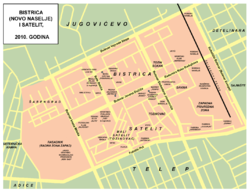 mapa novog sada sa ulicama Сателит (Нови Сад) — Википедија, слободна енциклопедија mapa novog sada sa ulicama