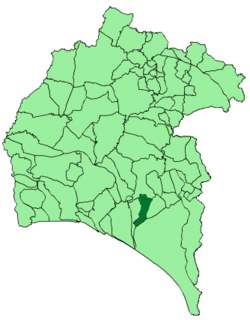 Location of Bonares