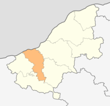 Map of Borovo municipality (Ruse Province).png